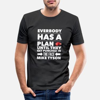 Mike Mike Tyson - Männer Slim Fit T-Shirt