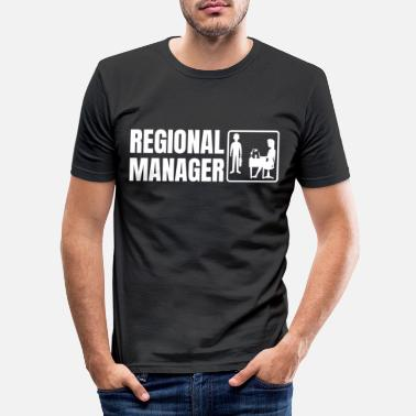Region Regional Manager - Men's Slim Fit T-Shirt