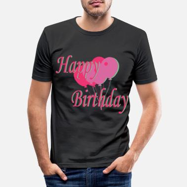 B Day B-day - Men's Slim Fit T-Shirt