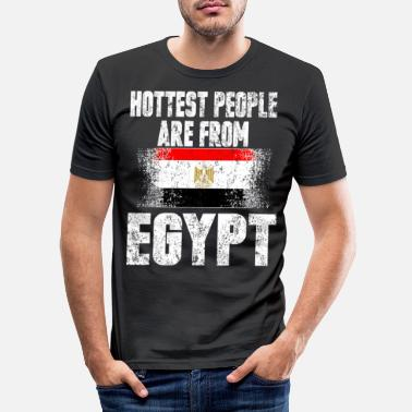 Egyptian Egyptian Sexy Country Summer Sun Desert Gift - Men's Slim Fit T-Shirt