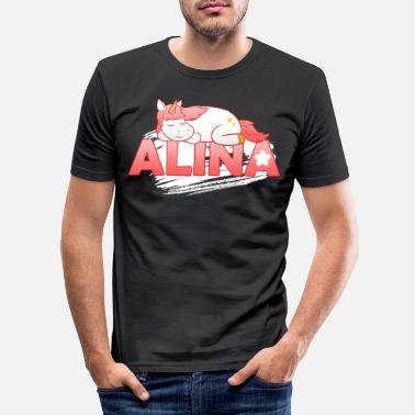 First Name Alina first name name - Men's Slim Fit T-Shirt