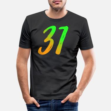 Date trente et un thirty one - Men's Slim Fit T-Shirt