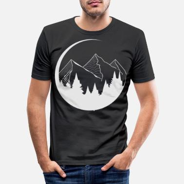 Switzerland Suitable for camping and mountaineering gift - Men's Slim Fit T-Shirt