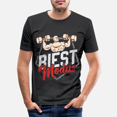 Biest Bodybuilder Biest Gym Gift Idea - Men's Slim Fit T-Shirt