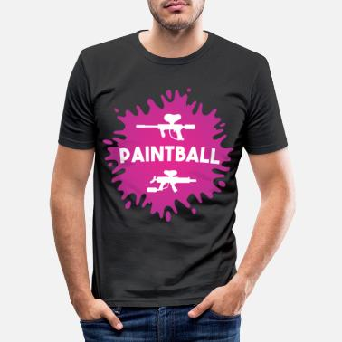 Paintball Paintball - Männer Slim Fit T-Shirt