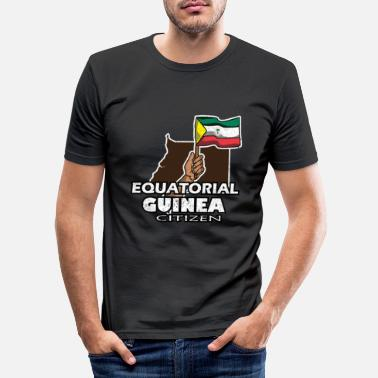 South America Equatorial Guinea Malabo - Men's Slim Fit T-Shirt