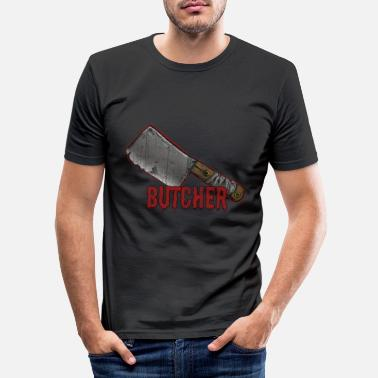 Bouche Boucherie Boucherie Boucherie - T-shirt moulant Homme