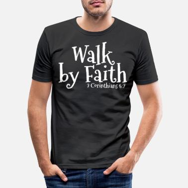 Bible Christian Bible - Men's Slim Fit T-Shirt