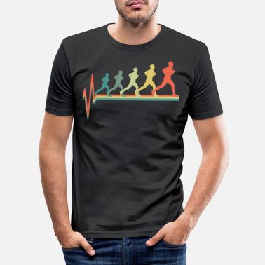 Running To run - Men's Slim Fit T-Shirt