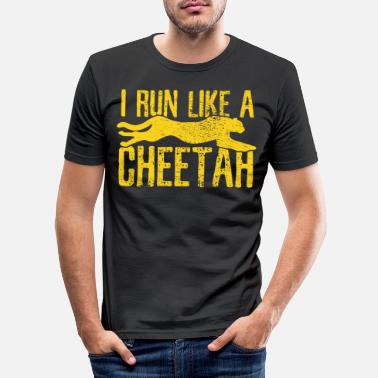 Cheetah Cheetah Cheetah Cheetah - Men's Slim Fit T-Shirt
