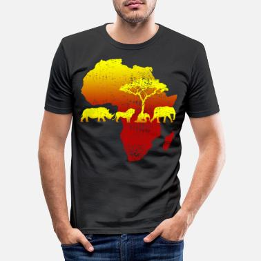 Safari Africa Safari - Männer Slim Fit T-Shirt