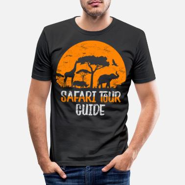 Safari Safari-Tour - Männer Slim Fit T-Shirt
