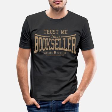 Library Library Library Bookstore - Men's Slim Fit T-Shirt