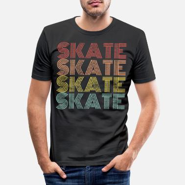 Skate Skate skate skate - Men's Slim Fit T-Shirt
