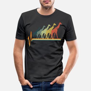 Giraff giraff - T-shirt slim fit herr