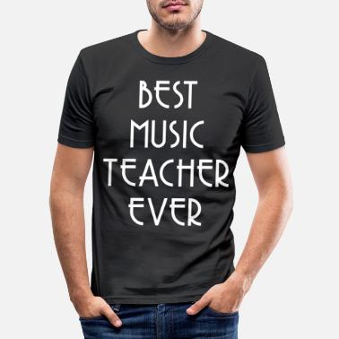 Music Teacher Music teacher music teacher - Men's Slim Fit T-Shirt