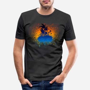 Graffiti Island - Slim fit T-shirt mænd