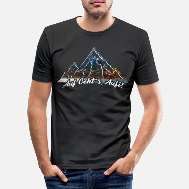 Mountains mountains - Men's Slim Fit T-Shirt