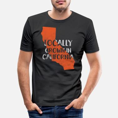Californie Californie, Californie - T-shirt moulant Homme