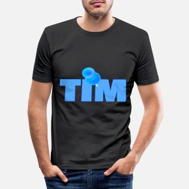 Pins Pin Tim - T-shirt moulant Homme
