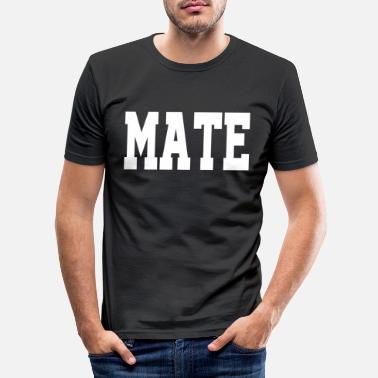 Mate Partner Design Mate - Slim fit T-shirt mænd