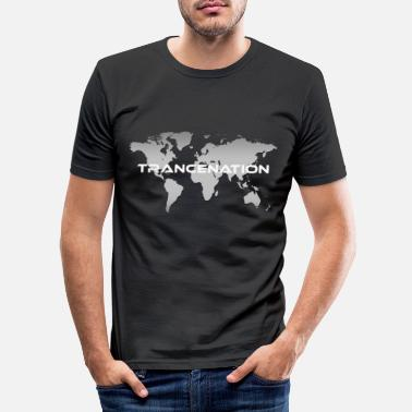 Trance TRANCE NATION - Männer Slim Fit T-Shirt