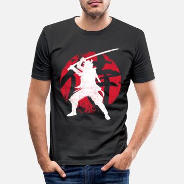 Samurai samurai - Men's Slim Fit T-Shirt