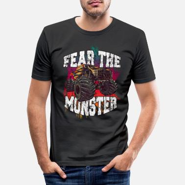 Tuning Monster Truck Diesel Motorsport - T-shirt moulant Homme
