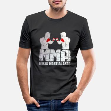Mixed Martial Arts MMA-jager - Mannen slim fit T-shirt