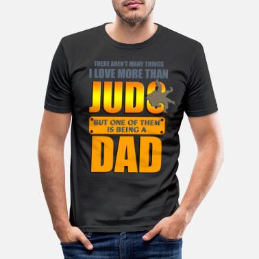 Judo Judo hobby father gift idea - Men's Slim Fit T-Shirt