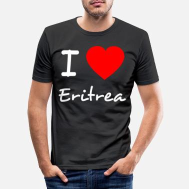 I love Eritrea - Männer Slim Fit T-Shirt