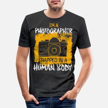 Photographie Photographe photographe - T-shirt moulant Homme