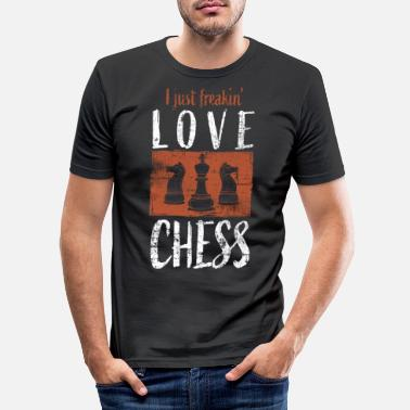 Chess chess - Men's Slim Fit T-Shirt