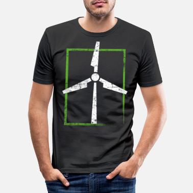 Windenergie Windenergie - Männer Slim Fit T-Shirt