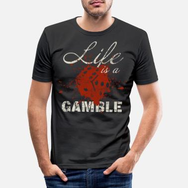 Casino Casino - Men's Slim Fit T-Shirt