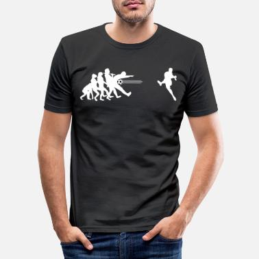 Soccer Soccer Soccer Evolution - Doel - Mannen slim fit T-shirt