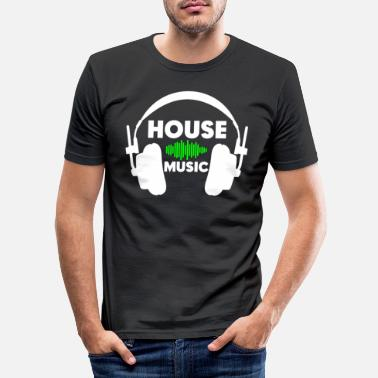 House House Music - Slim fit T-shirt mænd
