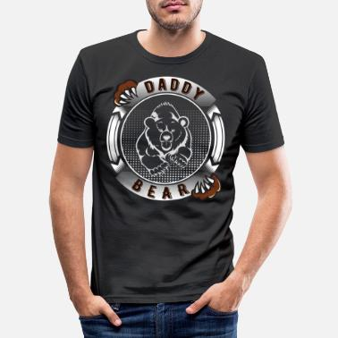Daddy DADDY BEAR - Men's Slim Fit T-Shirt