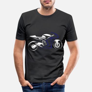 Super Bike Motorcycle super athlete sport bike - Men's Slim Fit T-Shirt
