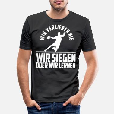 Verein Handball Trainer I Handballer Jugendtrainer - Männer Slim Fit T-Shirt