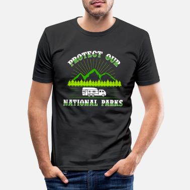 National Parc national - T-shirt moulant Homme