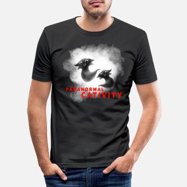 Paranormal CATIVITE PARANORMALE - T-shirt moulant Homme