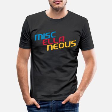 Miscellaneous miscellaneous english gift slogan colored motive - Men's Slim Fit T-Shirt