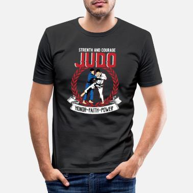 judo - Men's Slim Fit T-Shirt