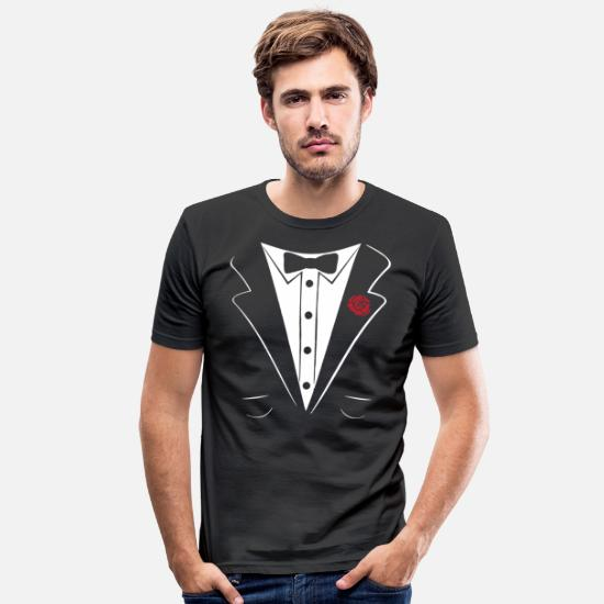 Monsieur Madame T-shirts - monsieur - T-shirt moulant Homme noir
