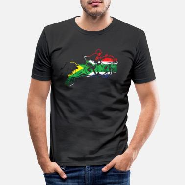 South Africa South Africa horse - Men's Slim Fit T-Shirt