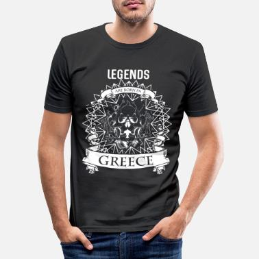 Mythologie Griechenland Mythologie - Männer Slim Fit T-Shirt