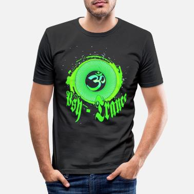 Trance psyTrancer - Männer Slim Fit T-Shirt