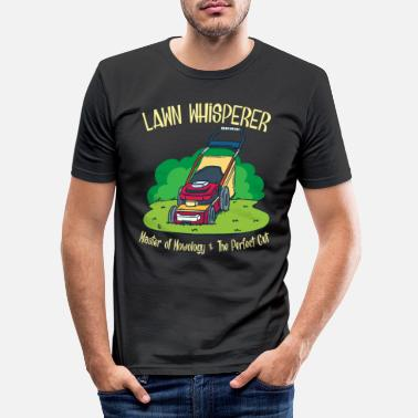 Lawn Gardener garden lawn mower gift - Men's Slim Fit T-Shirt