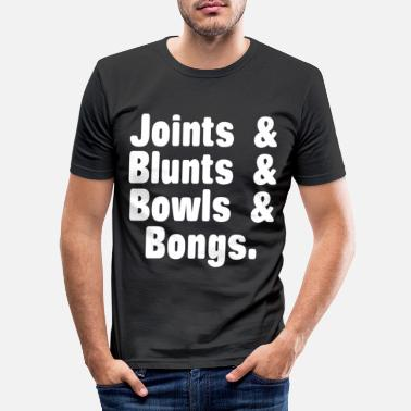 Stoner Cadeaux Weed Cannabis Kiffen Kiffer - T-shirt moulant Homme